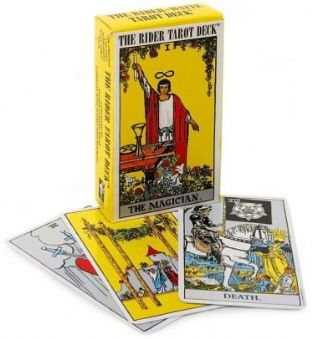 Rider Waite Tarot Deck (playing card size)